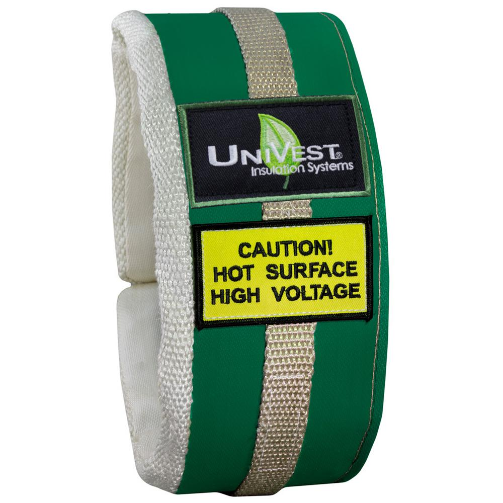 UniTherm UniVest Insulation Jacket High Temperature 63 in. L x 05 in. W Insulation Wrap