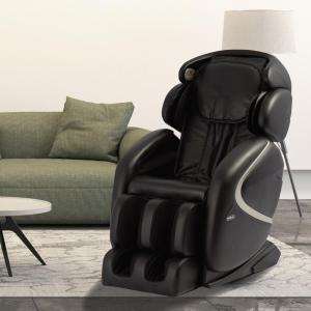 Pleasant Titan Osaki Black Faux Leather Reclining Massage Chair Ap Pdpeps Interior Chair Design Pdpepsorg