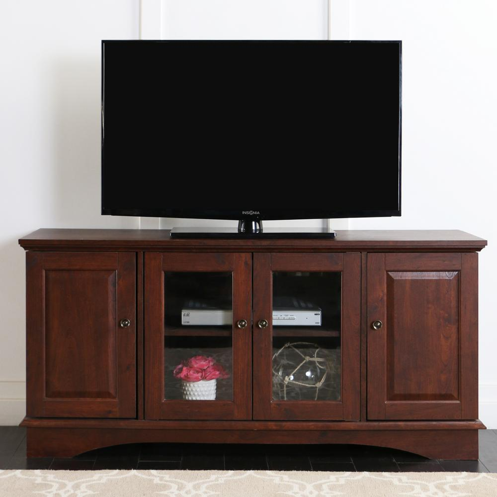 Walker Edison Furniture Company Wasatch Traditional Brown
