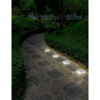 Stainless Steel Outdoor Solar Outdoor Integrated LED Pathway Light (4-Pack)
