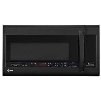 2.0 cu. ft. Over the Range Microwave in Smooth Black with Sensor Cooking