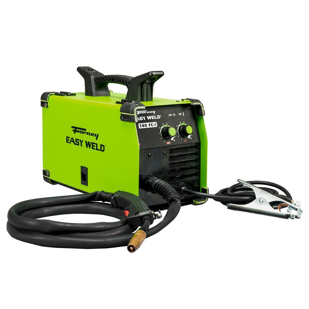 Forney 120 Volt 140 Amp Easy Weld Fc I Flux Core Gasless Welder 261 Wiring Garage For