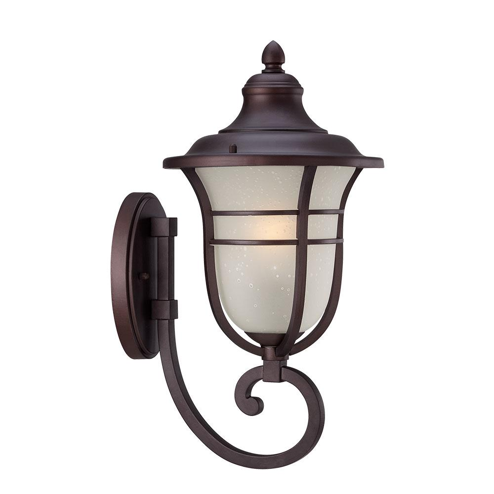 Montclair Collection 1-Light Architectural Bronze Outdoor Wall Mount Light