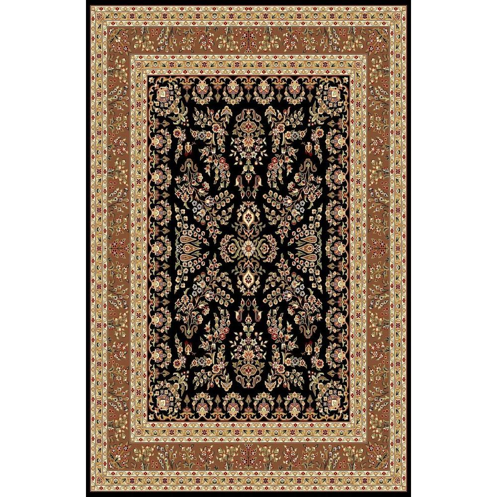 Safavieh Lyndhurst Black Tan 8 Ft 11 In X 12 Ft Area