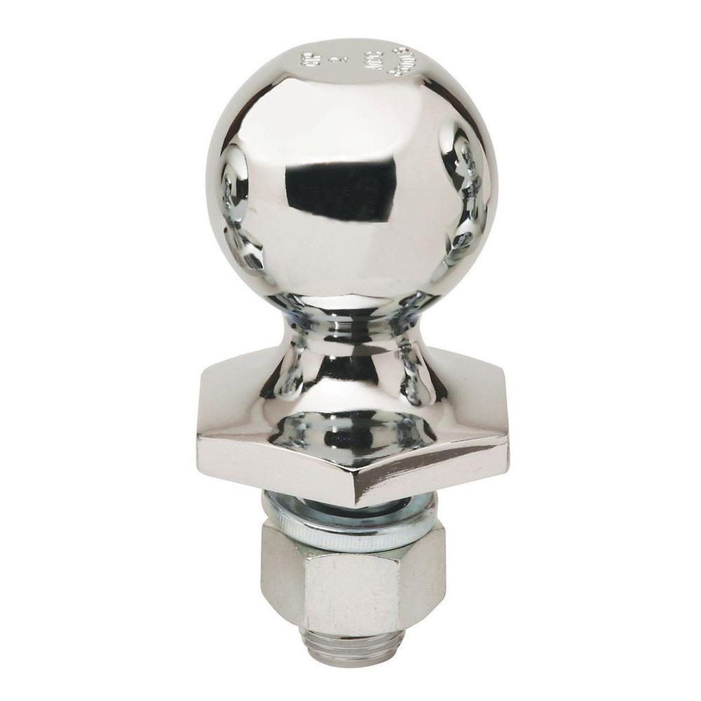 Stainless-Steel Interlock Hitch Ball