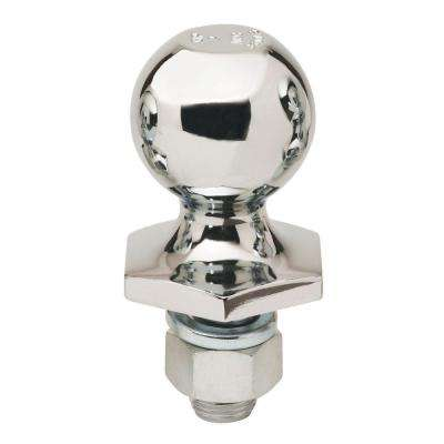 Stainless-Steel Interlock Hitch Ball