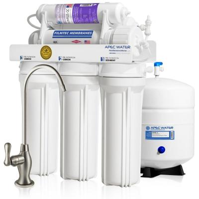 Ultimate Premium Quality 90 GPD pH+ Alkaline Mineral Under-Sink Reverse Osmosis Drinking Water Filter System