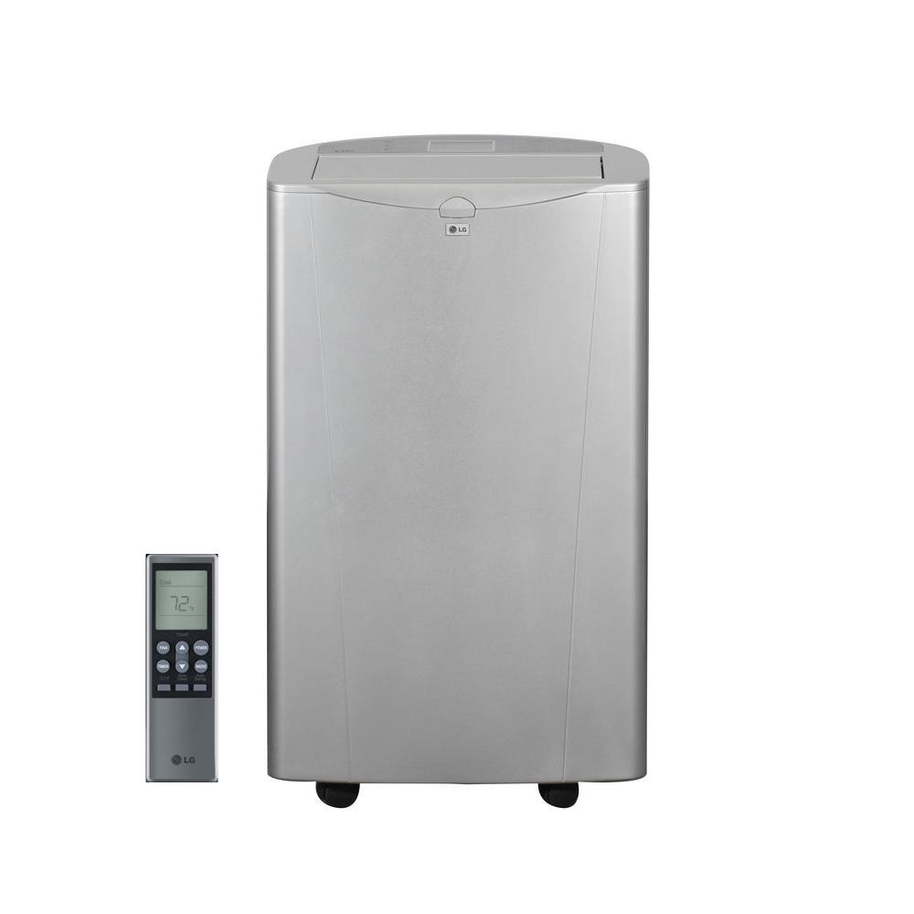 LG Electronics 14,000 BTU Portable Air Conditioner with Heat, Dehumidifier,  and Remote