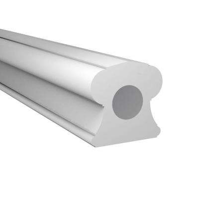 4-3/4 in. x 4-3/4 in. x 96 in. Polyurethane Baluster Classic Top Rail