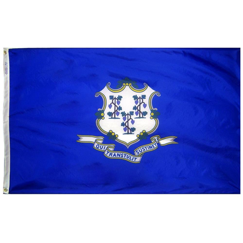 2 ft. x 3 ft. Nylon Connecticut State Flag