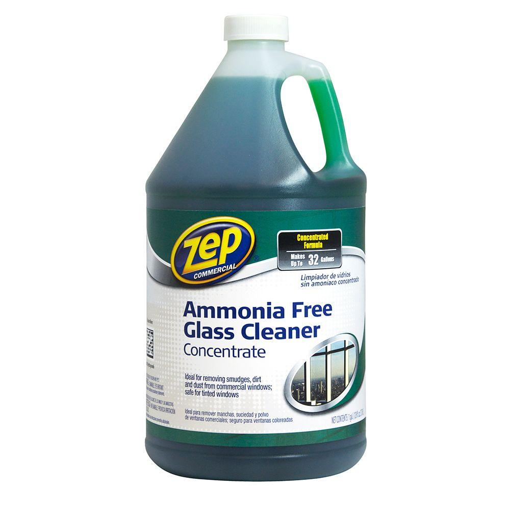 Zep 1 Gal Ammonia Free Concentrated Glass Cleaner Case