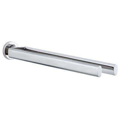 Areo 18 in. Twin Towel Bar in Polished