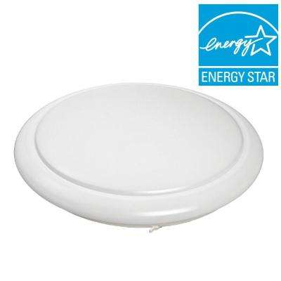24 in. Round LED Flush Mount Cool White