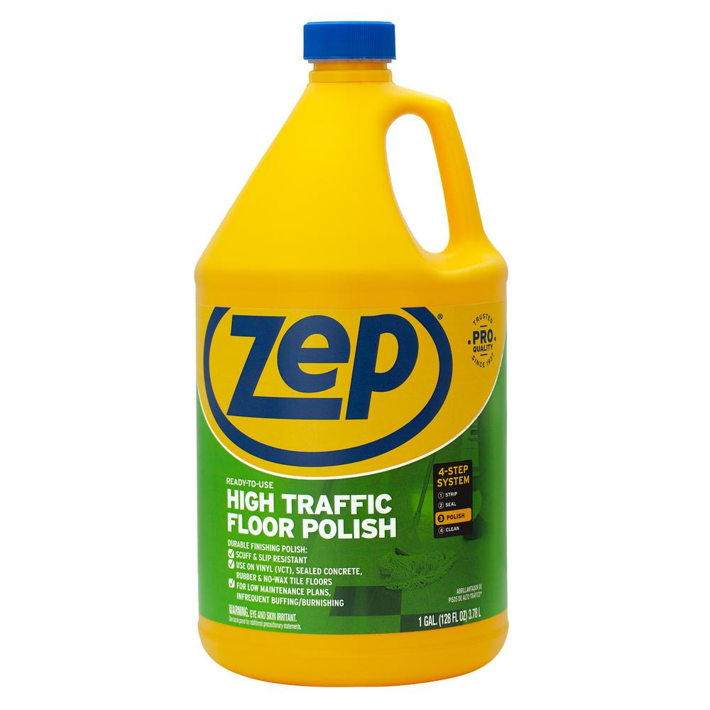 Zep 1 Gal High Traffic Floor Polish Zuhtff128 The Home