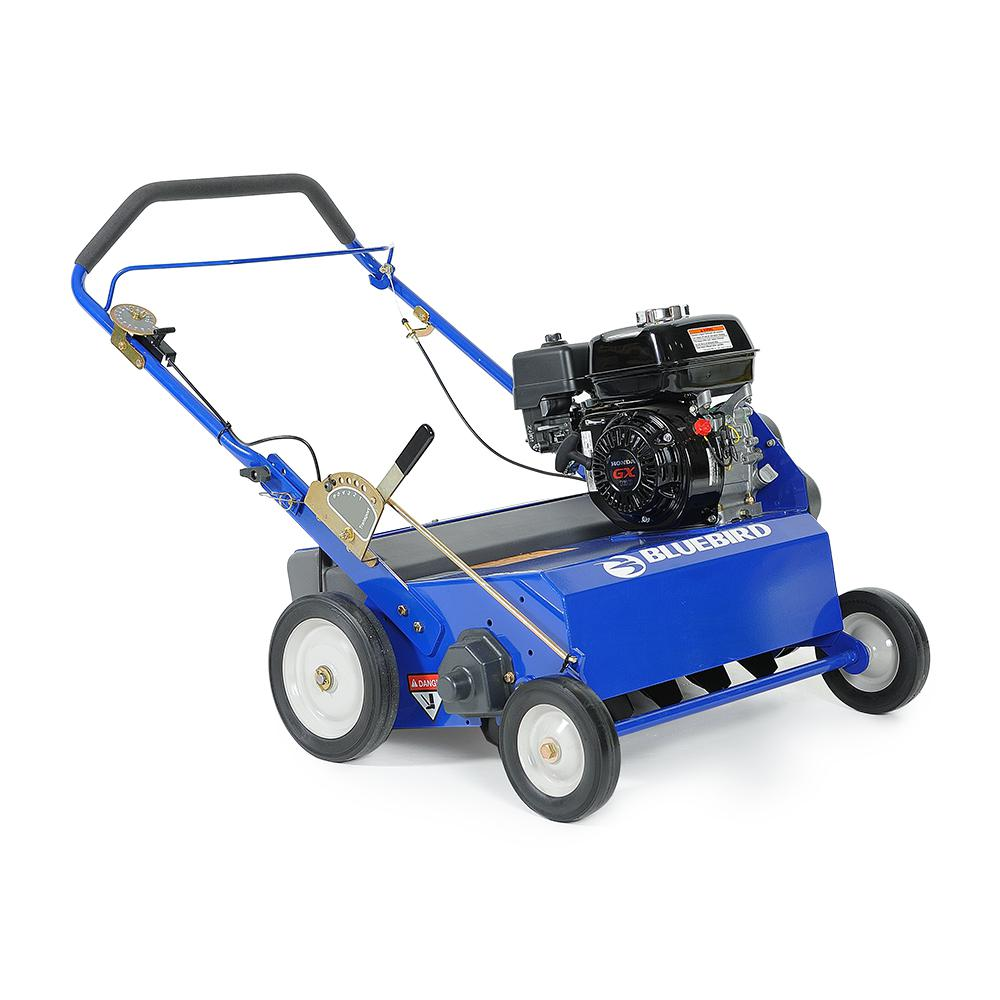 5.5 HP 22 in. Gas Powered Seeder with Honda GX160 Engine