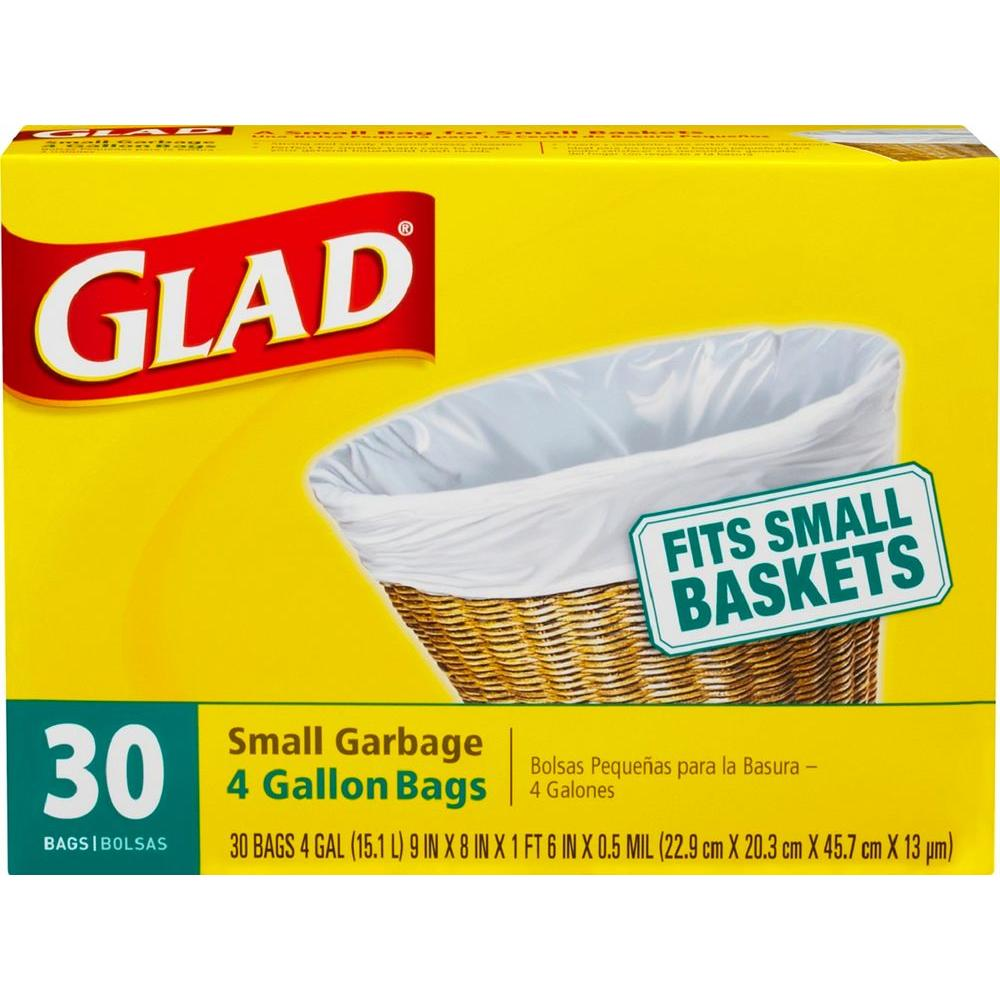 4 Gal. Trash Bags (30-Count)