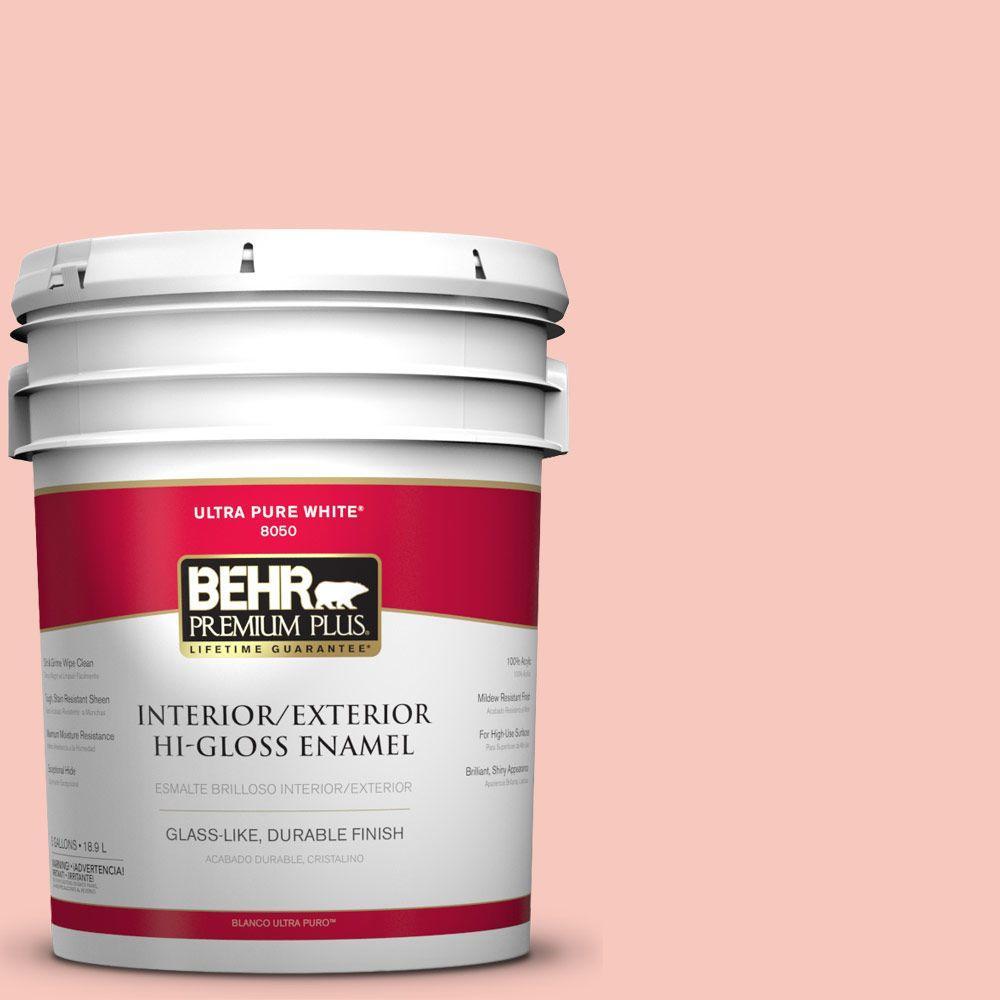 5-gal. #P180-2 Sherbet Fruit Hi-Gloss Enamel Interior/Exterior Paint