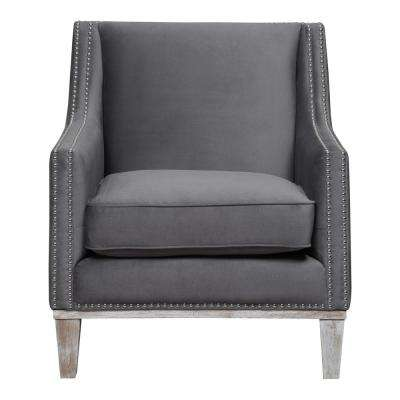 Aster Charcoal Accent Chair