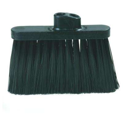 Carlisle 13 inch Duo-Sweep Heavy-Duty Broom Head Only in Black (Case of 12) by Carlisle