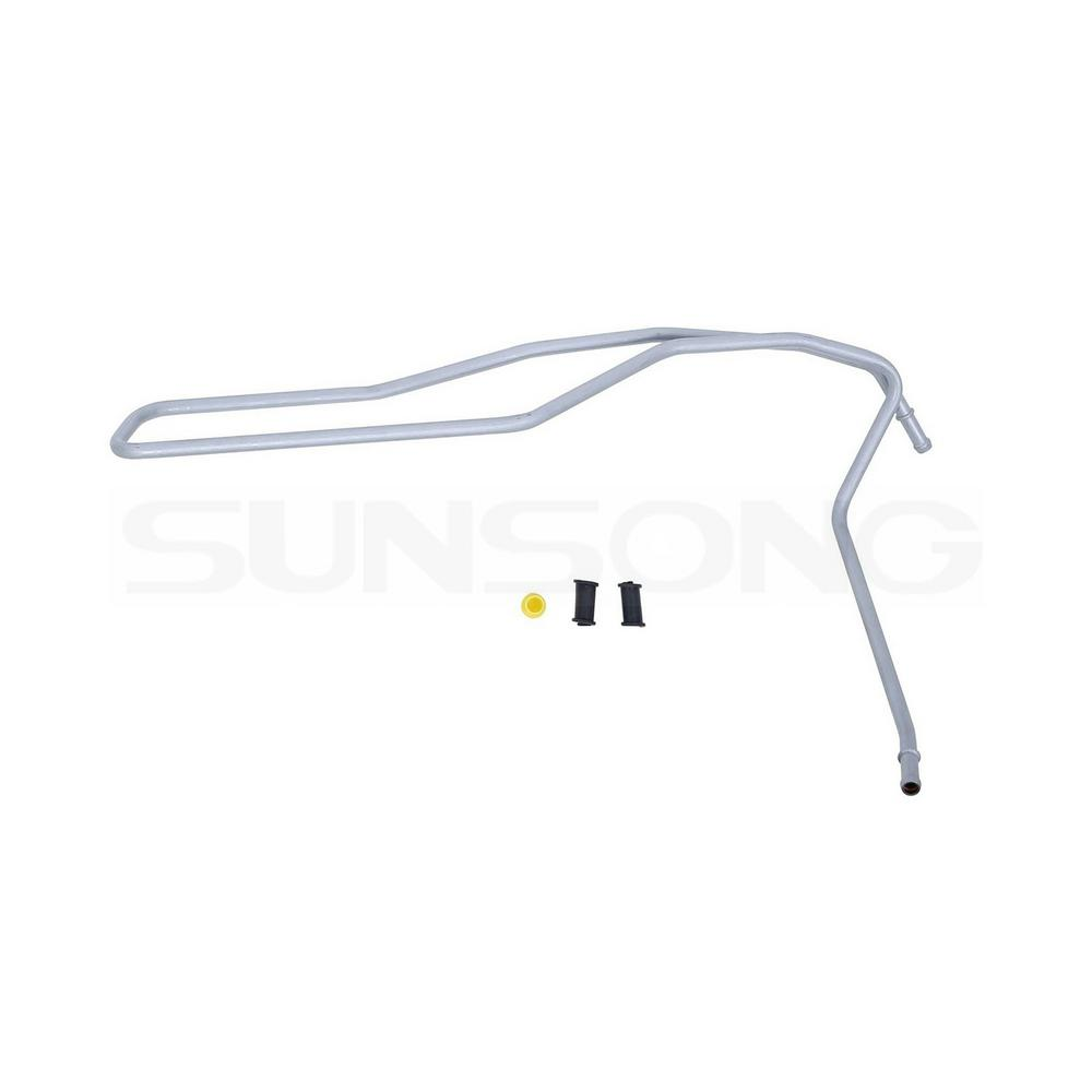 Sunsong Power Steering Return Line Hose Assembly - Cooler ...