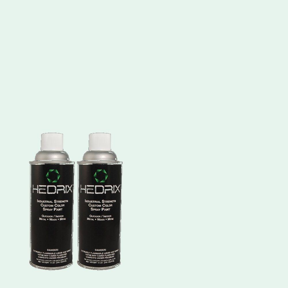Hedrix 11 oz. Match of 5C10-2 Blue Trace Semi-Gloss Custom Spray Paint (2-Pack)
