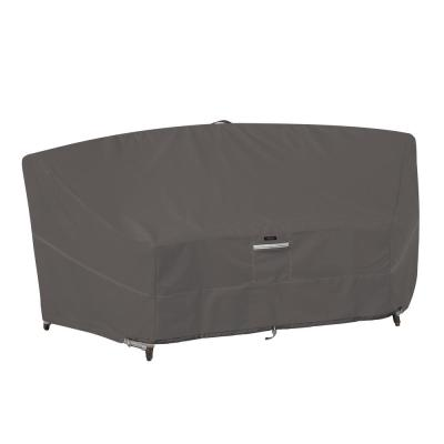 Ravenna 92 in. L x 36 in. W x 32 in. H Patio Curved Modular Sectional Sofa Cover