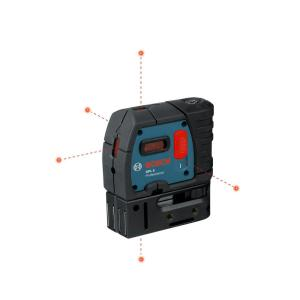 [NRIO_4796]   Bosch 100 ft. 5 Self Leveling Plumb and Square Point Laser-GPL 5 S - The  Home Depot | Laser Level 360 Wire Diagram |  | The Home Depot