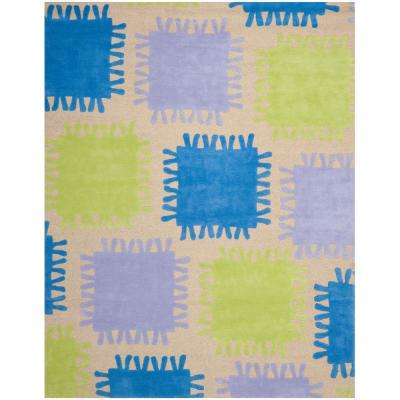 Playroom 8 X 10 Geometric Kids Rugs Rugs The Home Depot