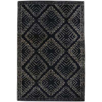 Fortress Crystal Ebony 5 ft. x 8 ft. Area Rug
