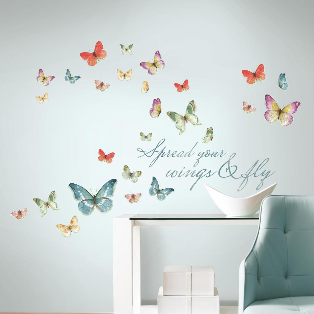 Wall Decals Wall Decor The Home Depot - Office depot window decals template