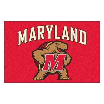 University of Maryland 19 in. x 30 in. Accent Rug