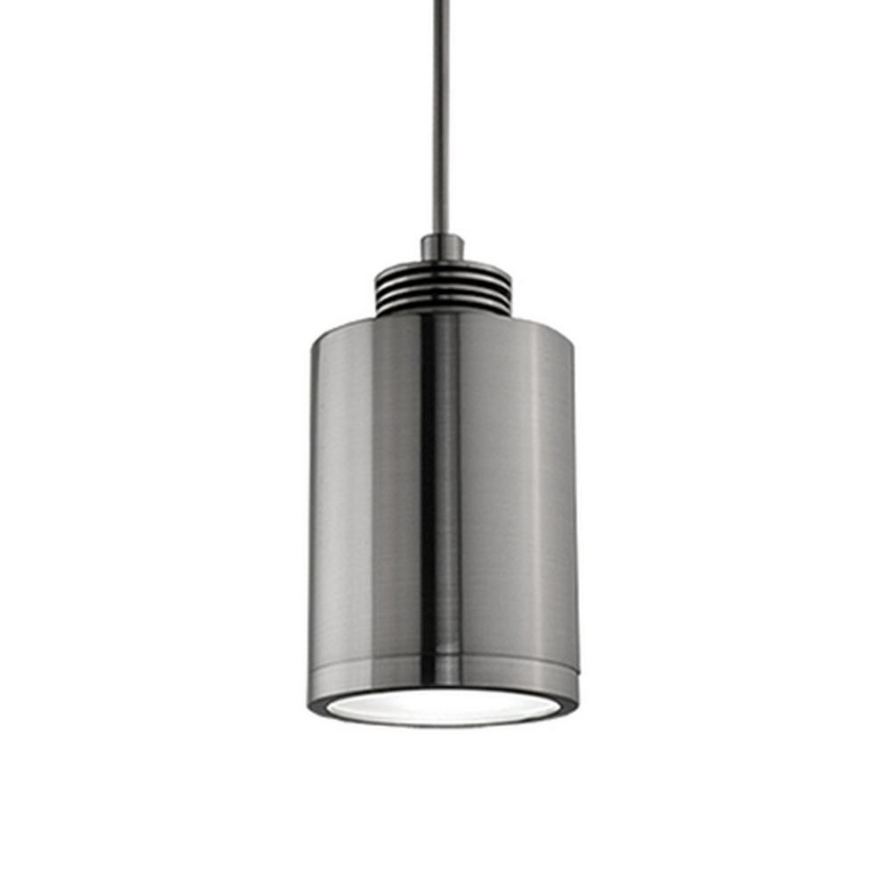 Radionic Hi Tech Kara 1-Light 60-Watt Equivalence Brushed Nickel Integrated LED Pendant