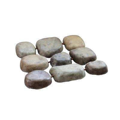 12 in. x 12 in. Square Step Stream Stone (8-Pack)