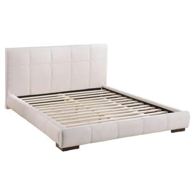 Amelie White King Bed