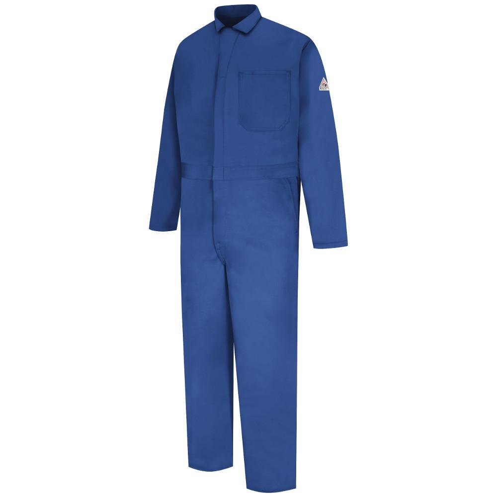 9ee300195f3 Bulwark EXCEL FR Men s Size 56 (Tall) Royal Blue Classic Coverall ...