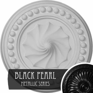 Ekena Millwork 15 3 4 In X 2 In Foster Shell Urethane Ceiling Medallion Fits Canopies Upto 9 5 8 In Hand Painted Americana Cm15foamf The Home Depot