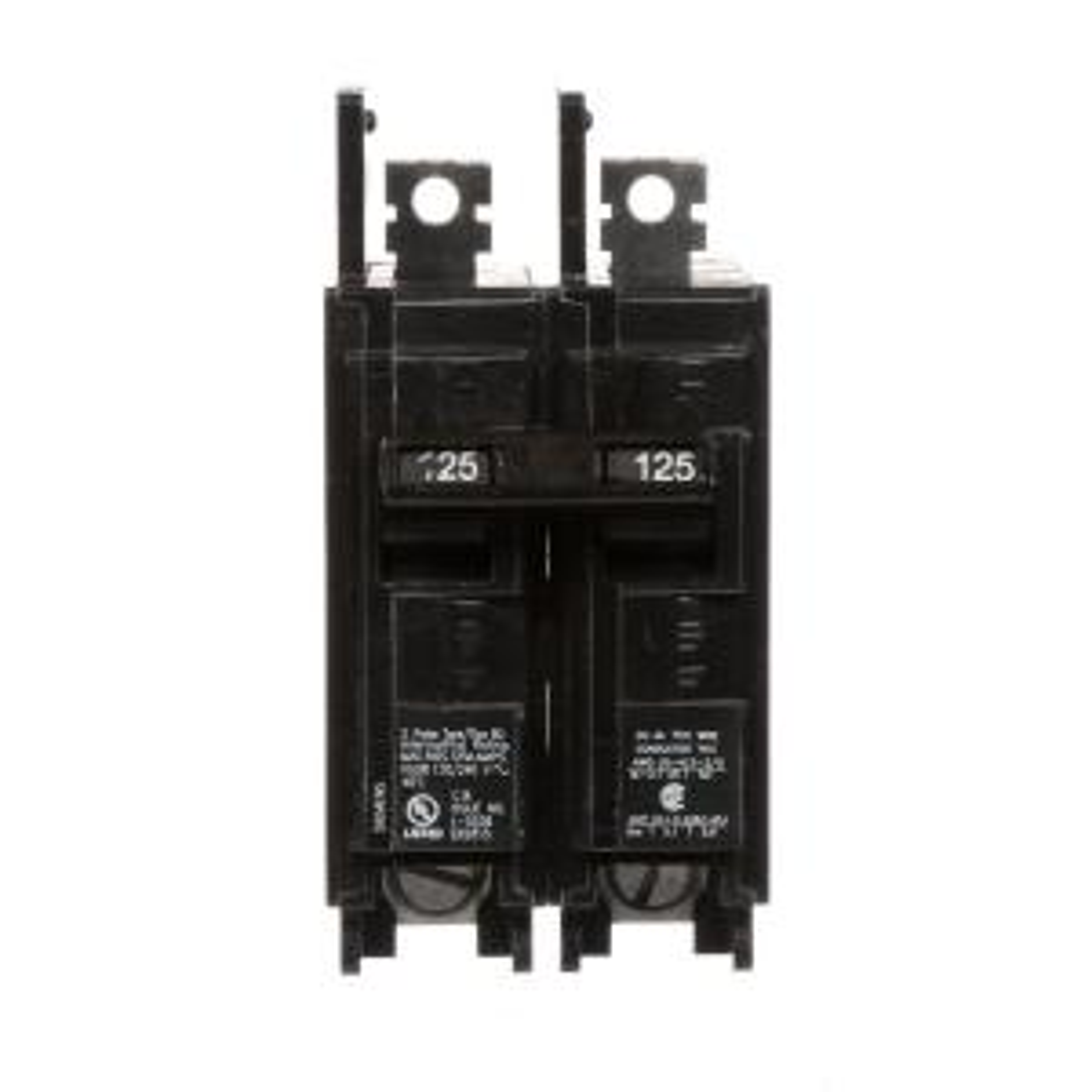 Siemens 125 Amp Double-Pole Type BQ 10 kA Lug-In/Lug-Out Circuit Breaker by Siemens