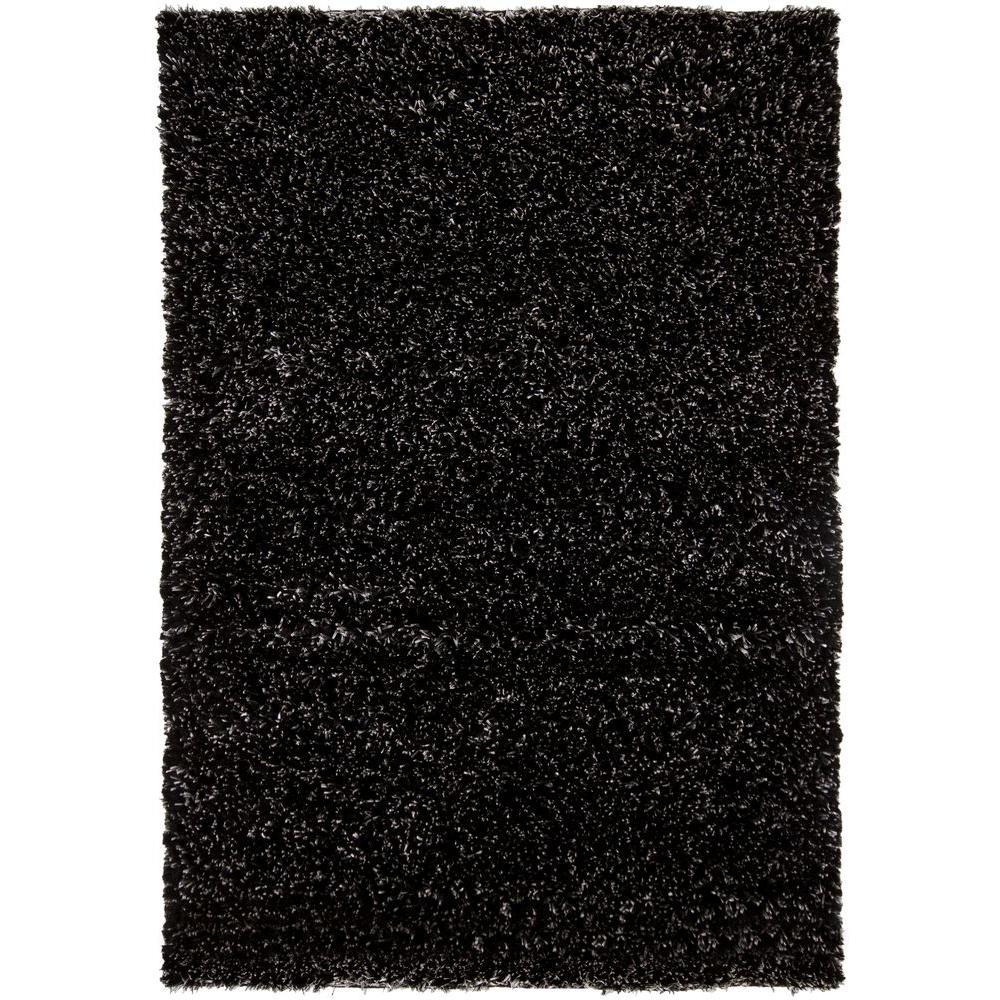 Dior Black/White 9 ft. x 13 ft. Indoor Area Rug