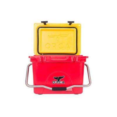 ORCA Red/Yellow 20 Qt. Cooler