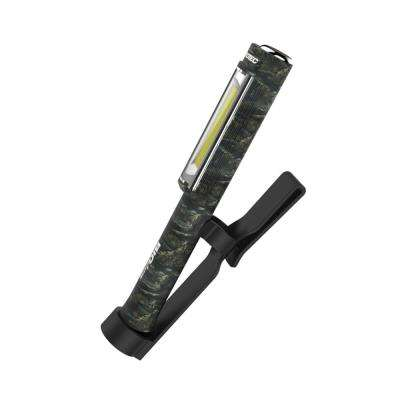 400-Lumen White/Green LED XL Pocket-Light with Red Emergency Flasher in Camouflage