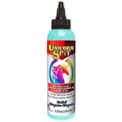 4 fl. oz. Zia Teal Gel Stain and Glaze Bottle (6-Pack)