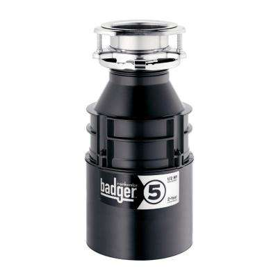 Badger 5-1/2 HP Continuous Feed Garbage Disposal