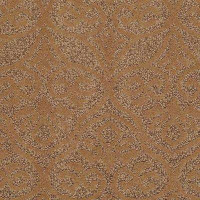 Carpet Sample - Perfectly Posh - In Color Honeycomb 8 in. x 8 in.