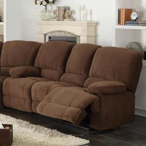 Collections Of Sofa With Two Recliners Onthecornerstone