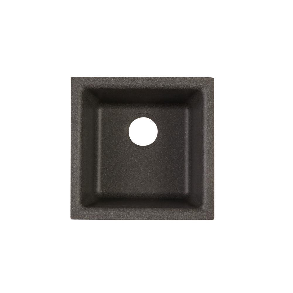 Elkay Quartz Classic Drop-In/Undermount Composite 16 in. Bar Sink in ...