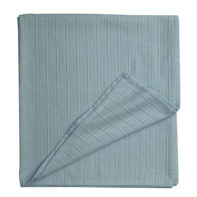 Legends Blue Haze Egyptian Cotton Queen Blanket