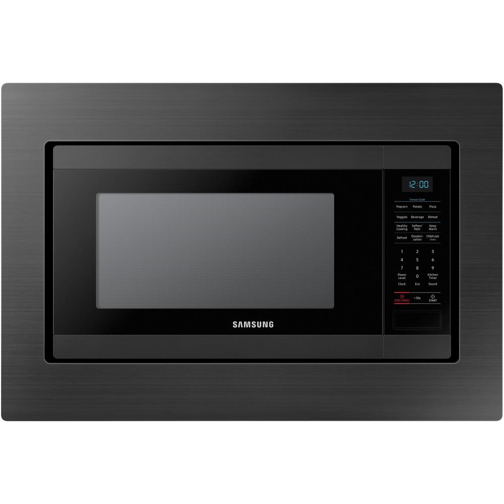 Trim Kit For Samsung Ms19m8000ag Countertop Microwave Black Stainless Steel 1