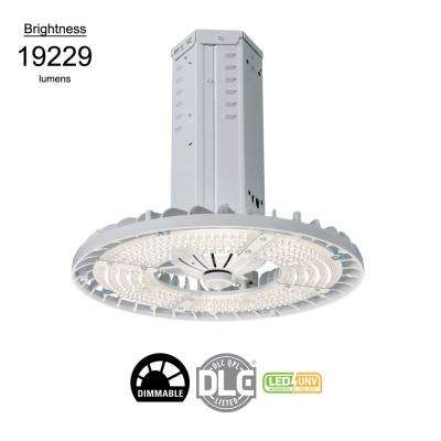 Steeler 162-Watt White Integrated LED High Bay Light 4000K CCT Wide Distribution