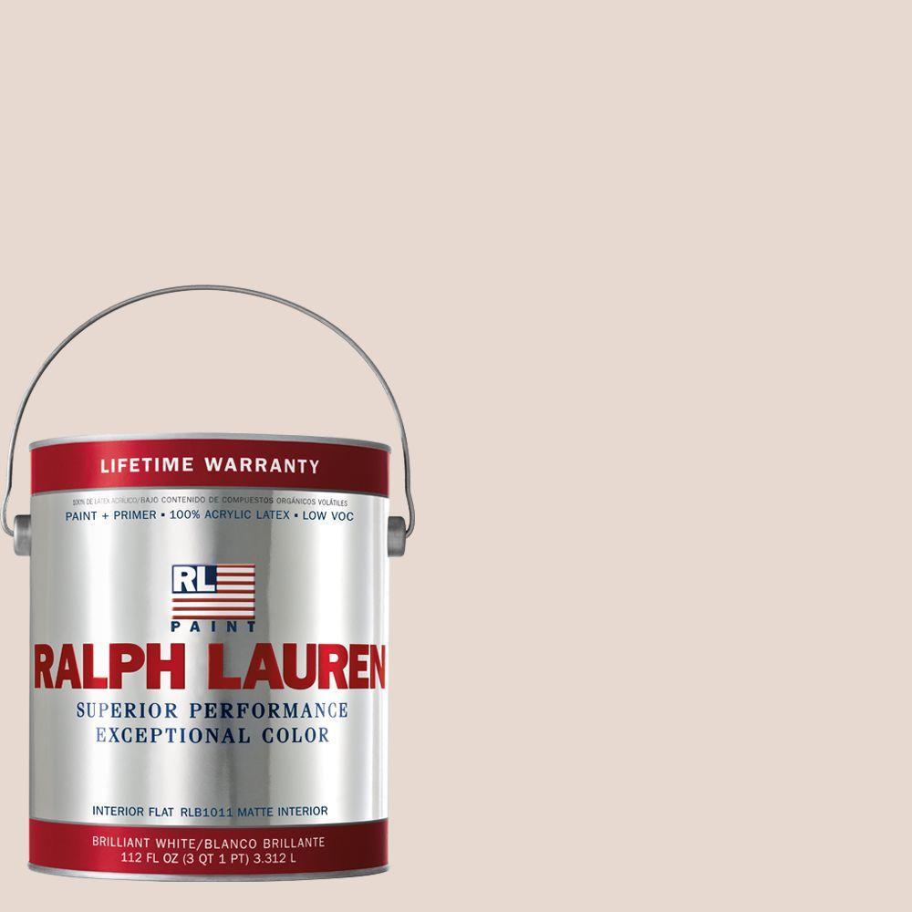 Ralph Lauren 1-gal. Cameo Pink Flat Interior Paint