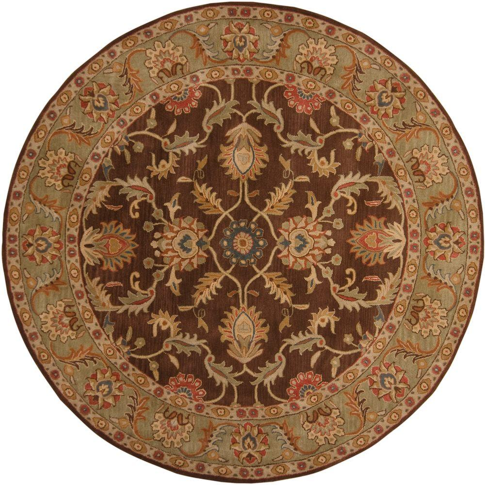 Artistic Weavers John Brown 4 Ft X Round Area Rug